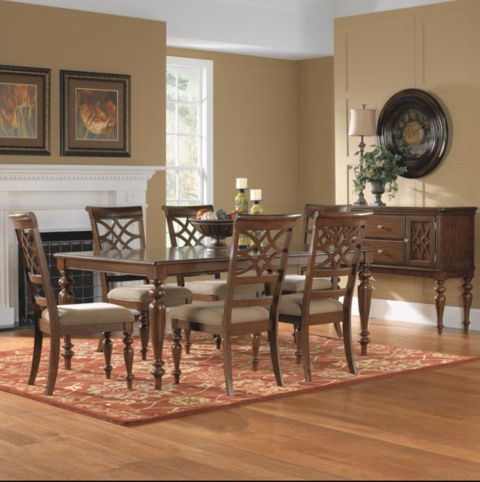 Badcock  Remington Dining Table Set  For The Home  Pinterest Simple Badcock Furniture Dining Room Sets Decorating Inspiration