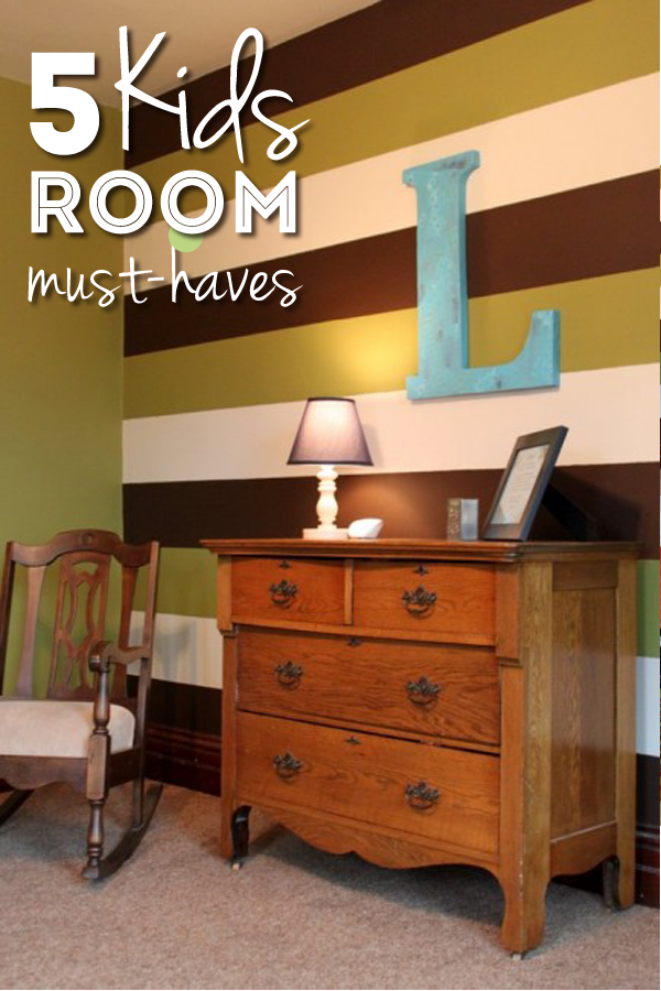 5 Things I Want For My Kids Rooms Home Decor Striped