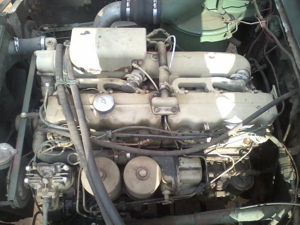 Deuce and a half multi fuel engine