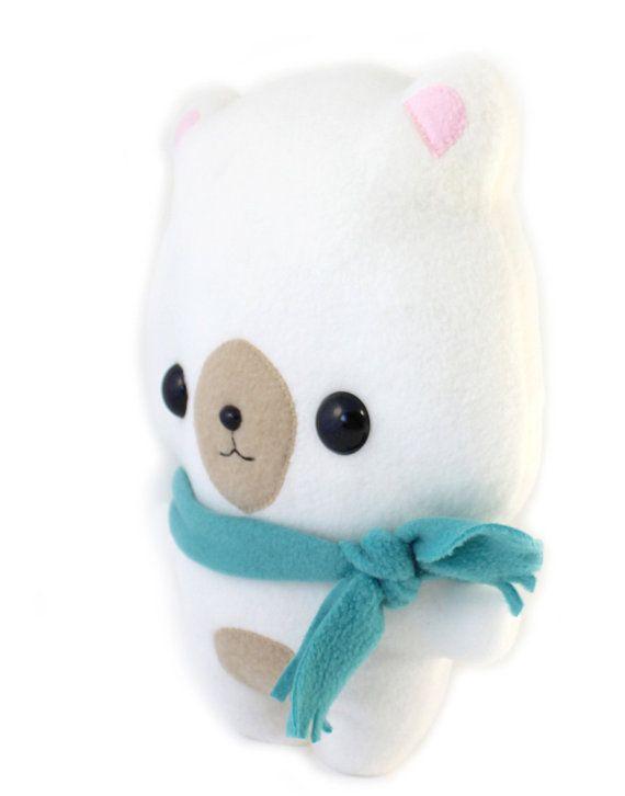 PDF sewing pattern - kawaii cute Bear pillow stuffed anima