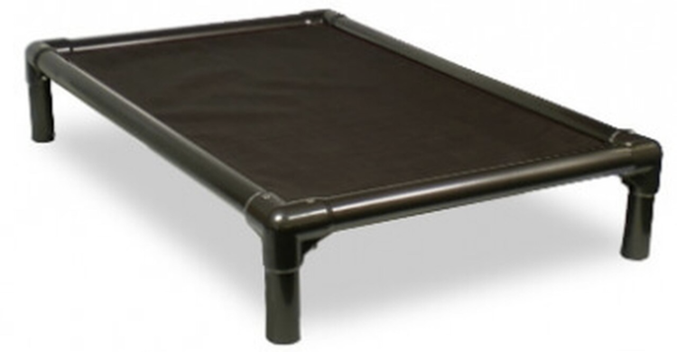 Kuranda Dog Bed Standard Walnut PVC Dog Bed — Standing