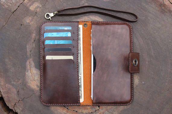 059adcebb42b iphone 7 plus wallet case/ Mens Wallet/ Women Leather Wallet ...