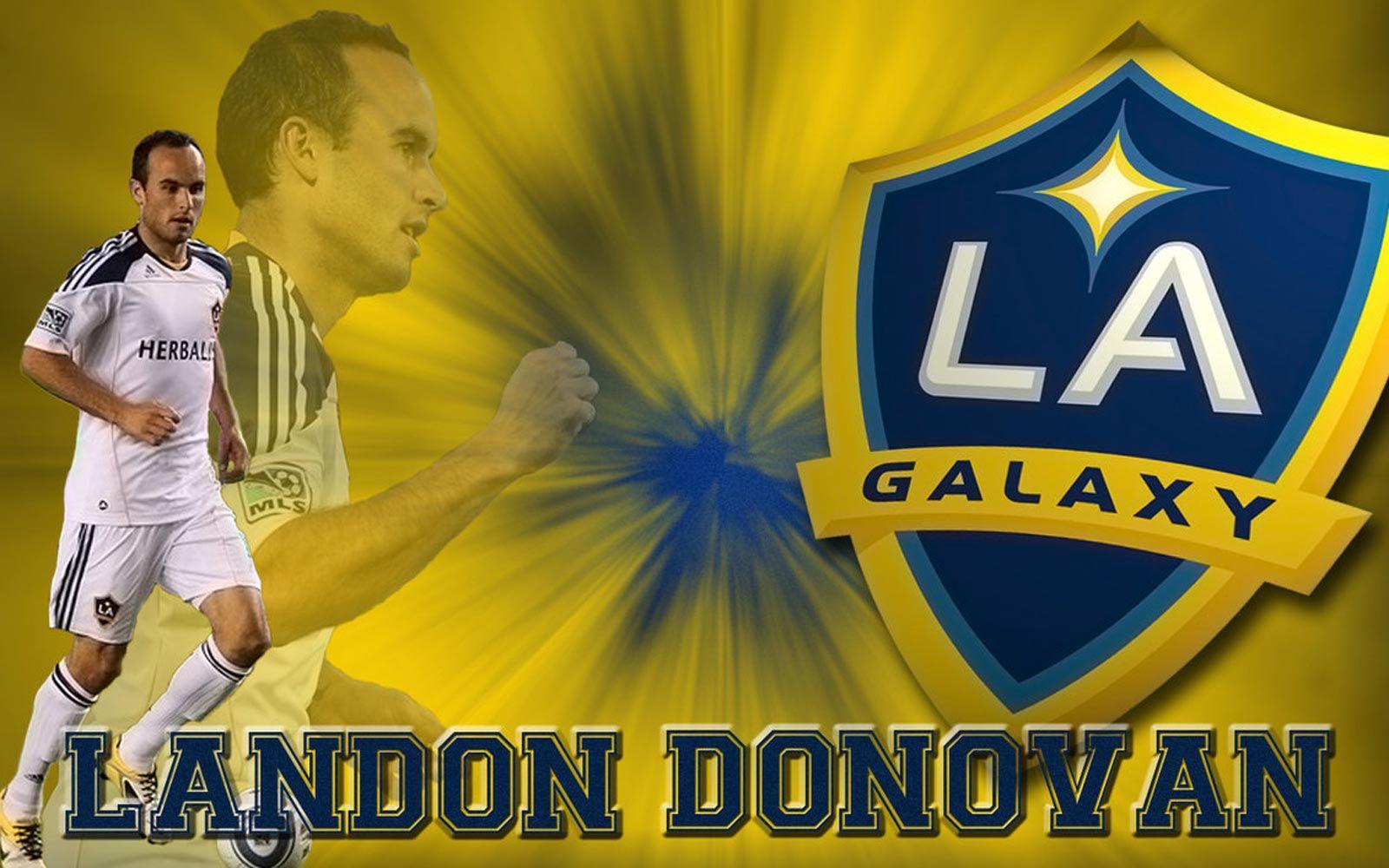 La Galaxy Landon Donovan 10 Landon Donovan La Galaxy Soccer Donovan