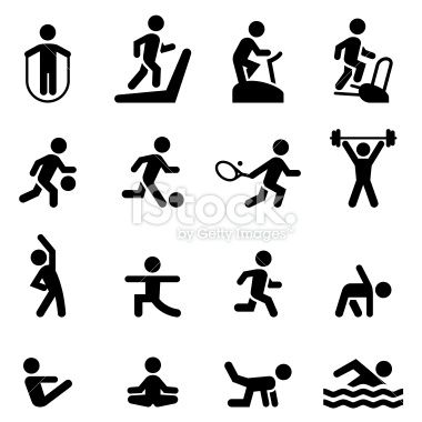 Health Club Gym And Athletic Icon Set Professional Icons For Your Fitness Icon Professional Icon Icon