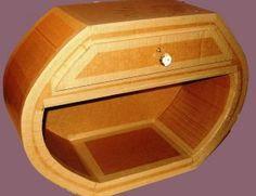 Vitrifier Un Meuble En Carton Pratique Fr Meuble En Carton Carton Bricolages En Argile Et Polymere