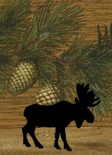 pinecone Moose Lodge Country Cabin Theme { LIGHT SWITCH PLATE COVER } wall art
