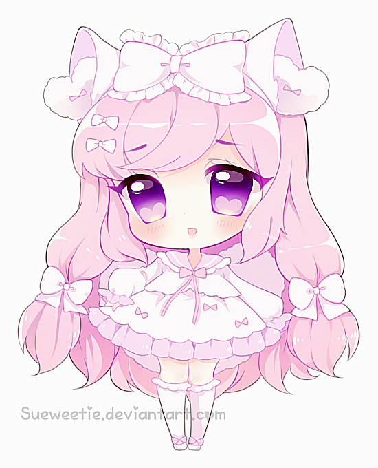 Pink Princess / Credit : Sueweetie ♥ | Cute anime chibi, Anime, Chibi