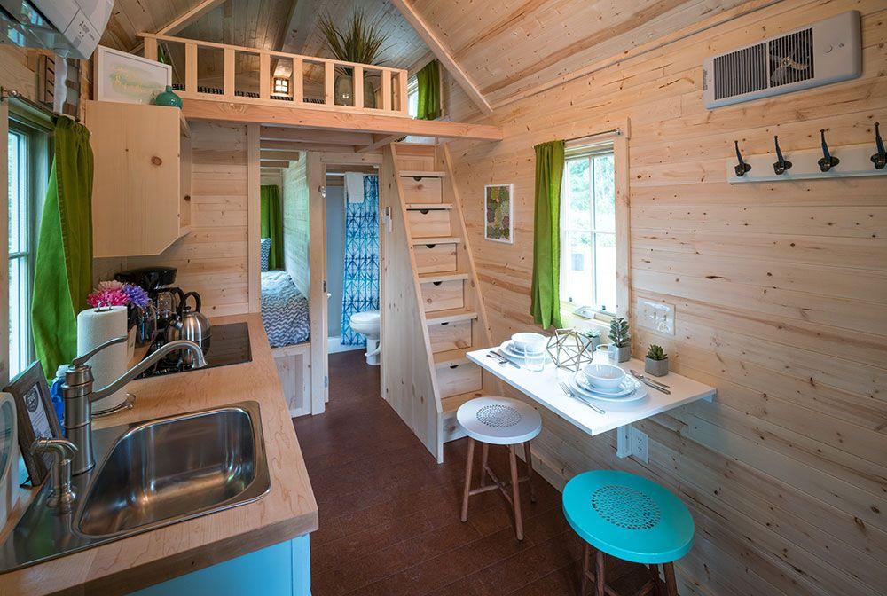 Folding deck. Nicole Archer. | tiny house porch | Pinterest | House ...