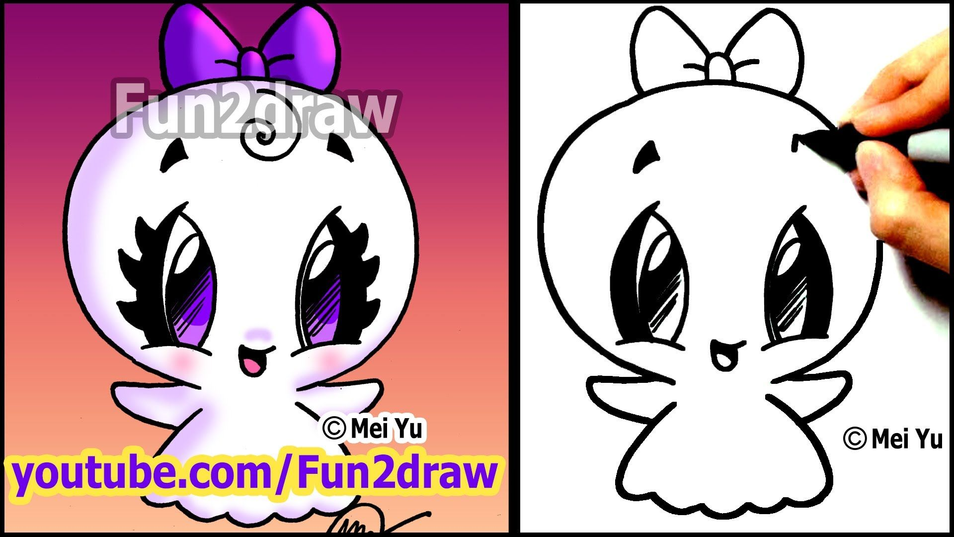 Draw color at your own pace with fun2draw apps apple for Cute but easy things to draw