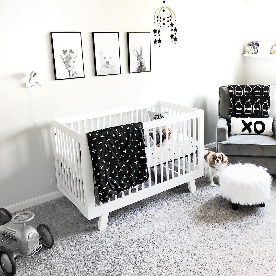 Cozy Baby Nursery Ideas On Instagram Mod And Monochromatic Ftw