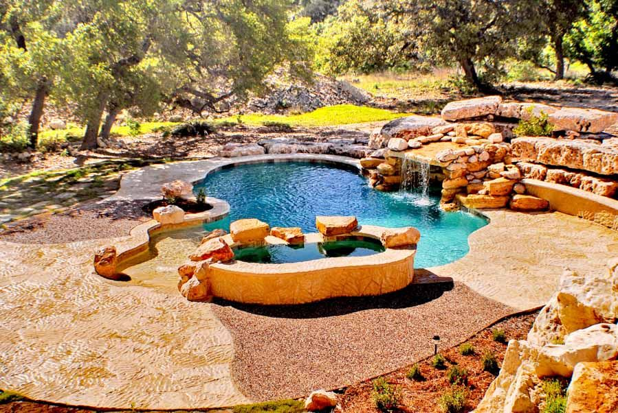 Custom Pool Gallery Concepts San Antonio Tx