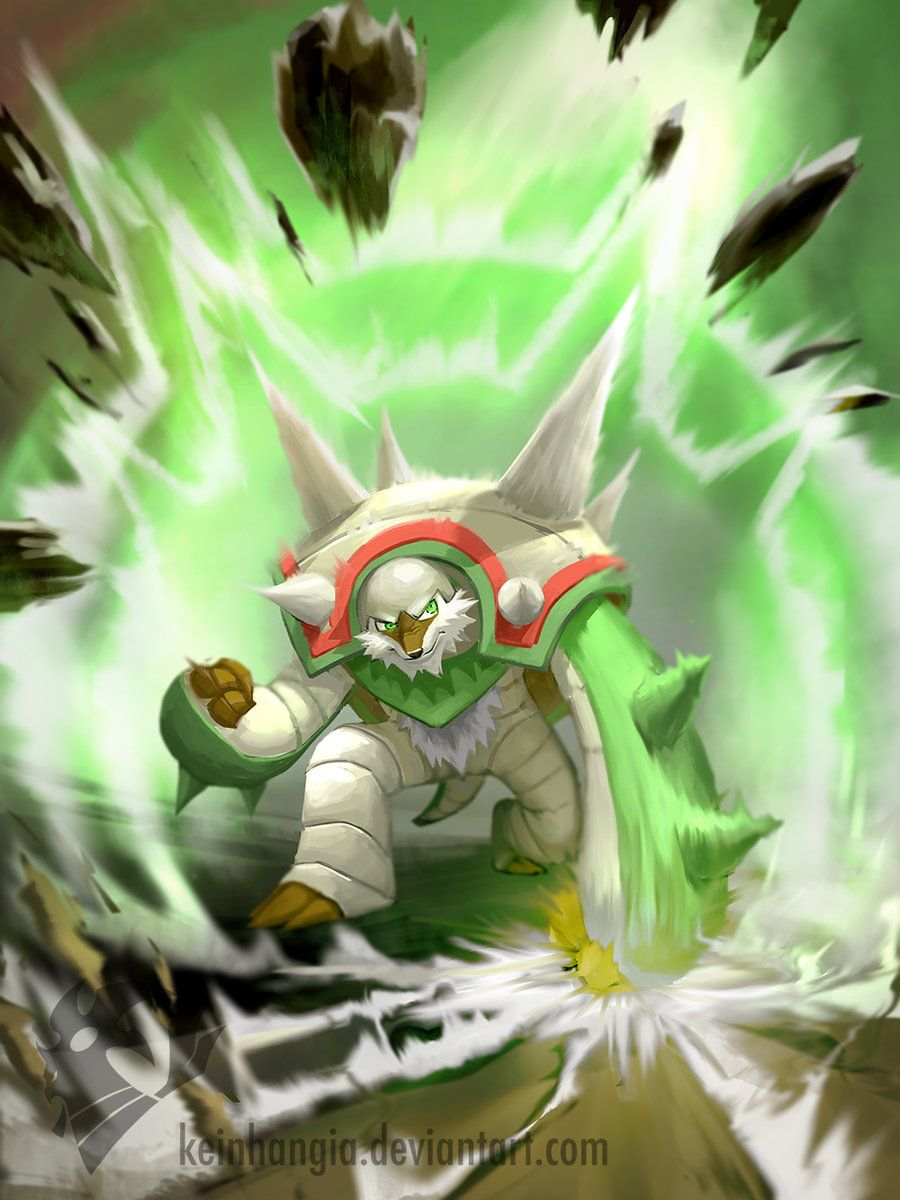 chesnaught chespin final evolution by keinhangia deviantart com on
