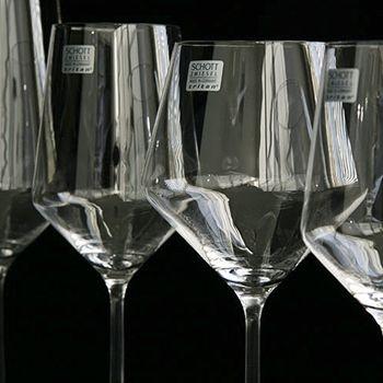 Schott titanium crystal - break resistant glass!
