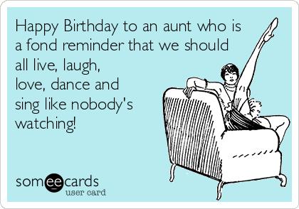 Pin On Happy Birthday Aunt
