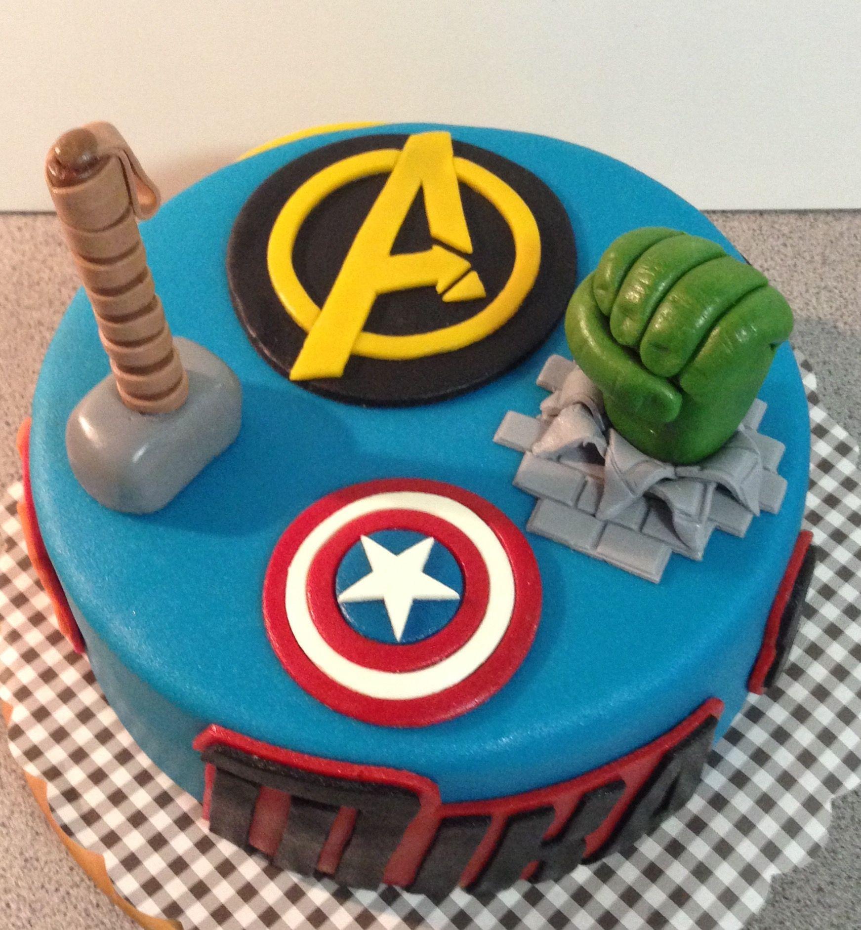 avengers taart Avengers taart | Mijn taarten in 2018 | Pinterest avengers taart