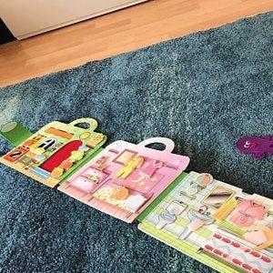 Photo of Sacco piano per casa delle bambole, piano in feltro, libro in feltro, libro morbido, libro in tessuto, bambola, bambola, giocattolo, regalo per ragazza, bambino, età 3 3 5 5 7 8