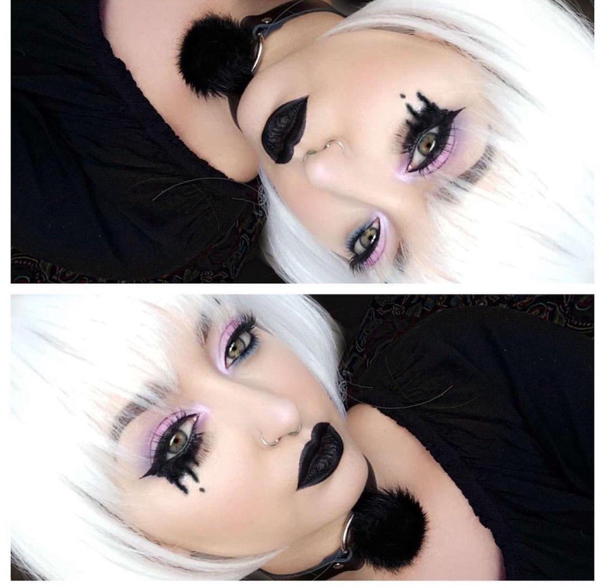 Pin by Tor Bear on Makeup Pastel goth makeup, Goth