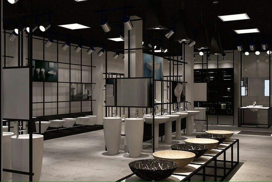Sanitary commodes display | Showrooms | Pinterest ... Modern Sanitary Ware Showroom