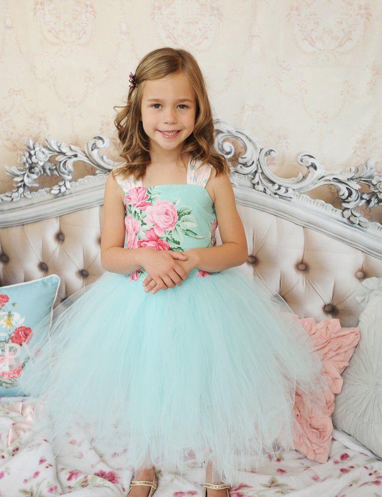 New! Garden Sprite Easy Girls Tutu Dress PDF Sewing Pattern