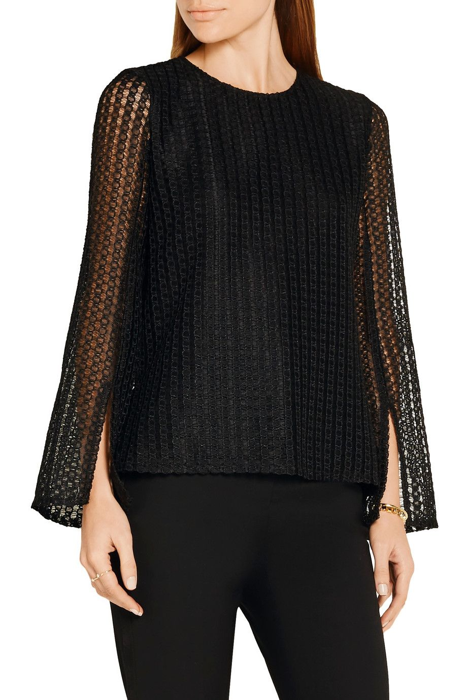 Shop on-sale Adam Lippes Macramé lace top. Browse other discount designer  Tops &