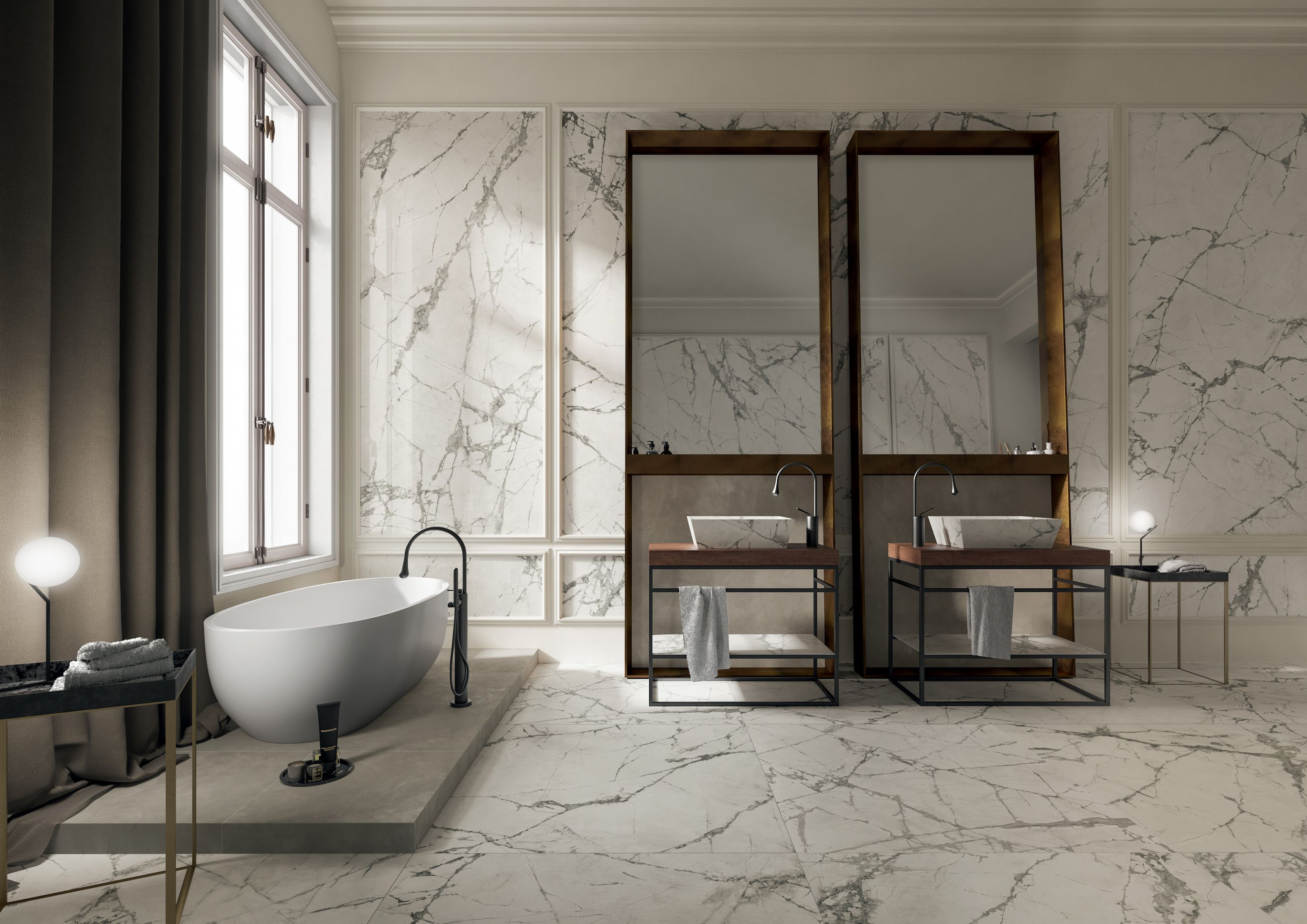 Anima Ever By Caesar In 2020 Wall And Floor Tiles Marble Effect Tile Floor