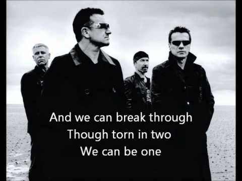 U2 New Year S Day With Lyrics Wmv Music Concert Music Bono