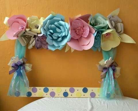 Recuadro flores  만들기  Pinterest  벽 장식