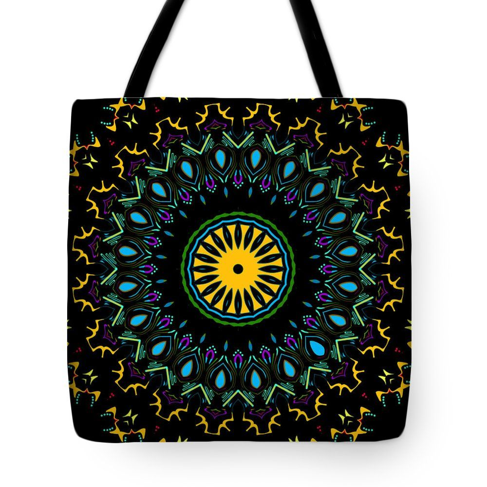 Circle of Thunderbirds Tote Bag, by Joy McKenzie, in several sizes, on Pixels.com #tote #bag #kaleidoscope