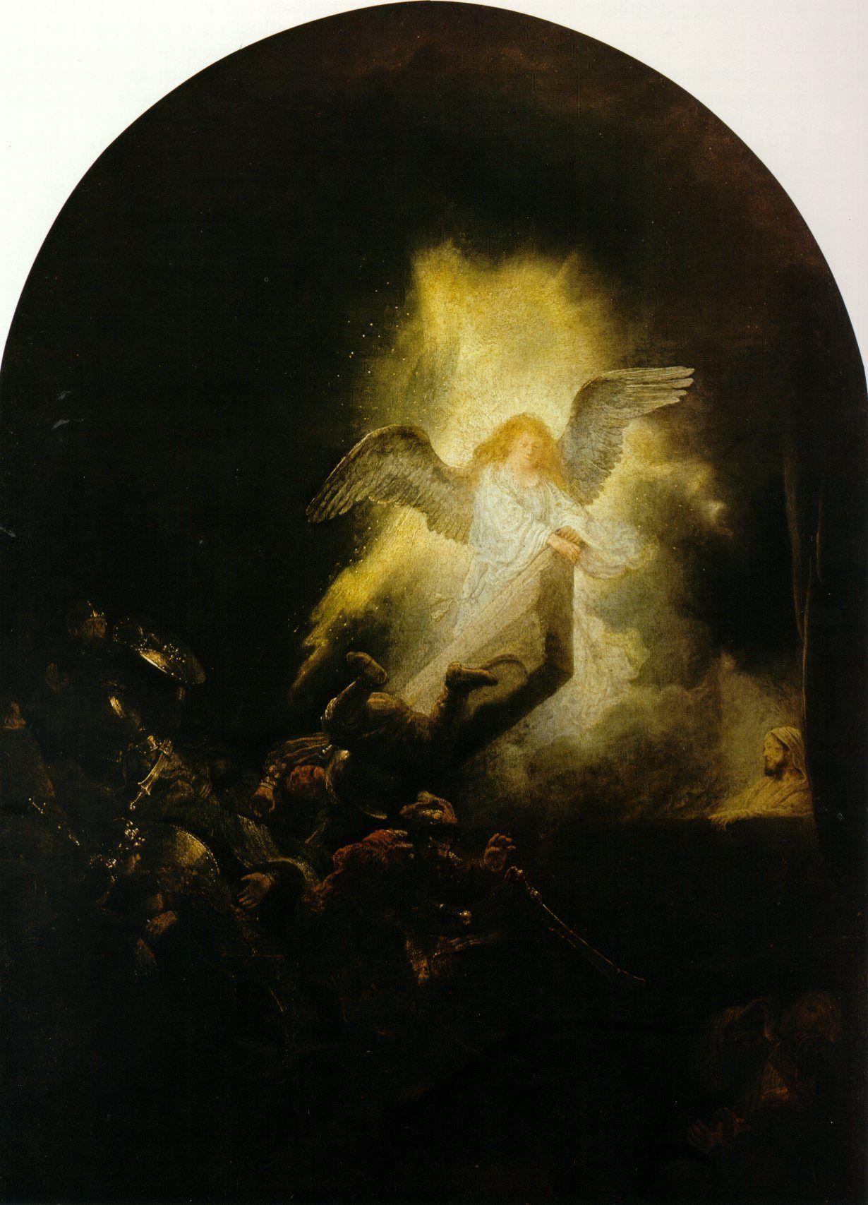 Рембрандт ван Рейн. Воскресение Христово. 1636-1639.                                       .
