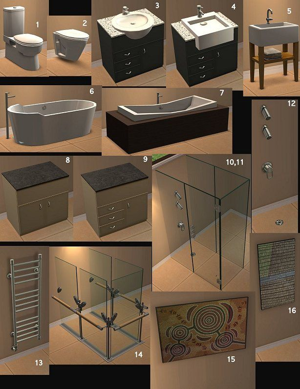 ModTheSims - The Great Aussie Bathroom