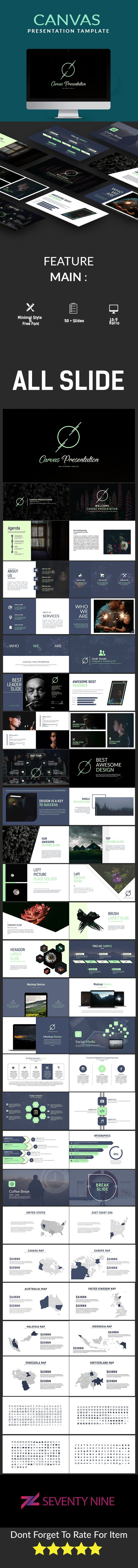 Canvas multipurpose keynote template ccuart Gallery