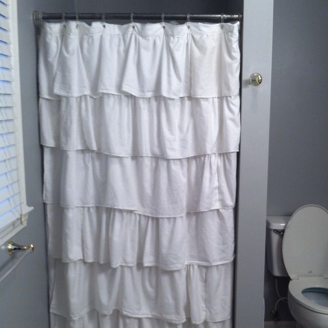 shower curtain for stall shower. Ruffled Stall Shower Curtain  For the Home Pinterest
