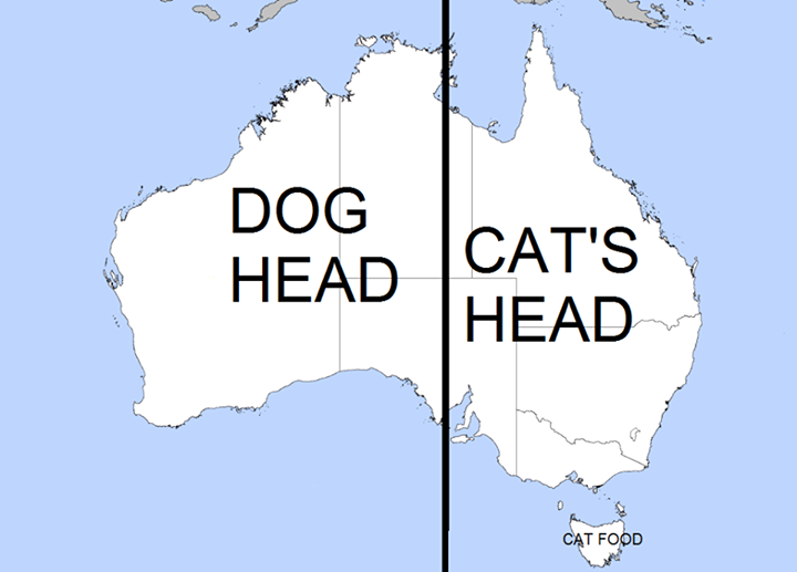 Easy way to remember the shape of australia maps are cool easy way to remember the shape of australia gumiabroncs Gallery