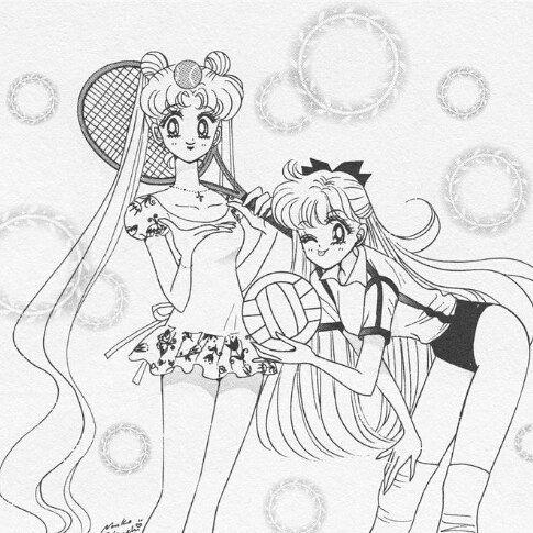Pin de Chelu en Mina y Serena son hermanas   Pinterest