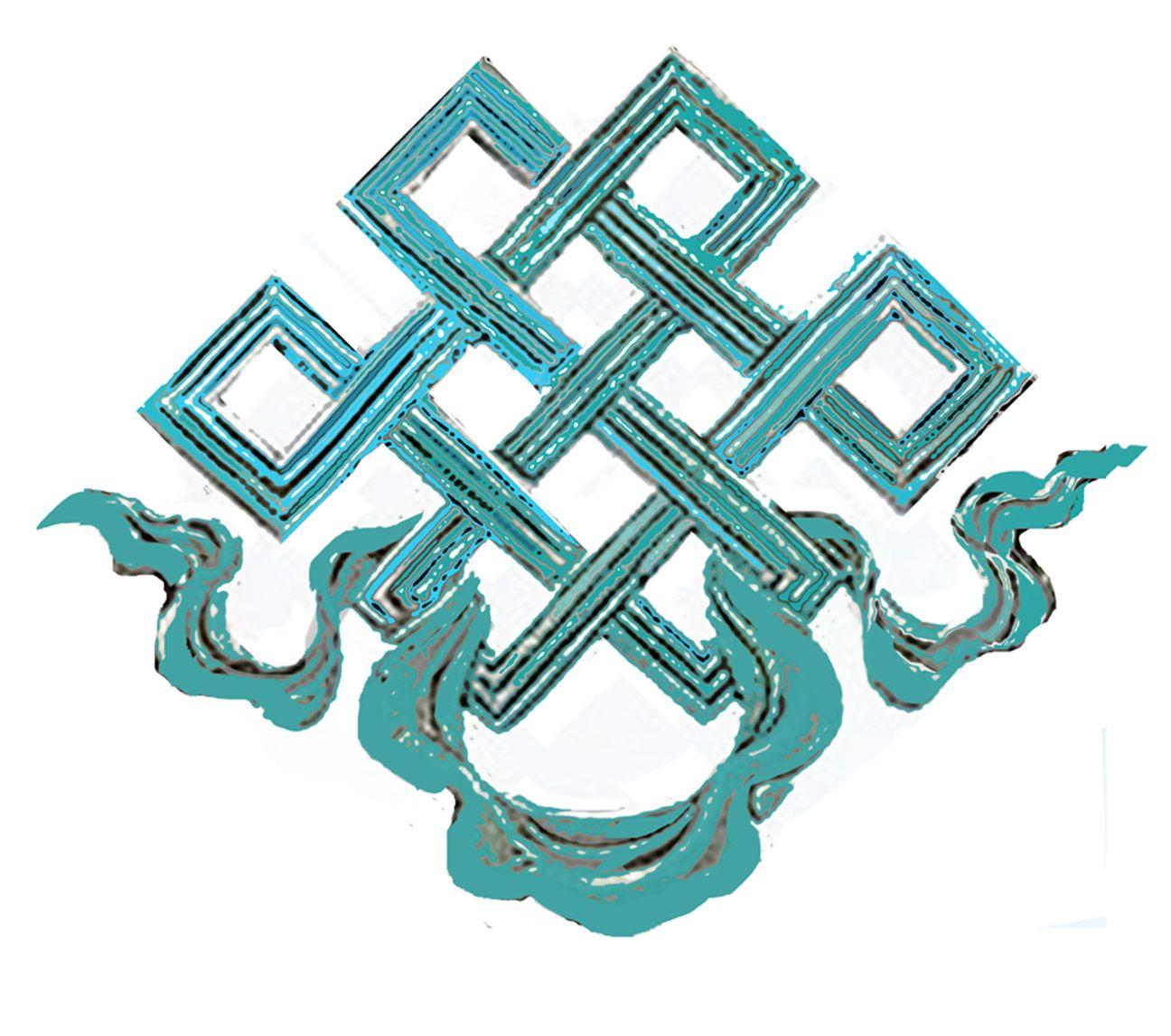 Endless Knot Buddhist Symbol Turquoise Pinterest Buddhist