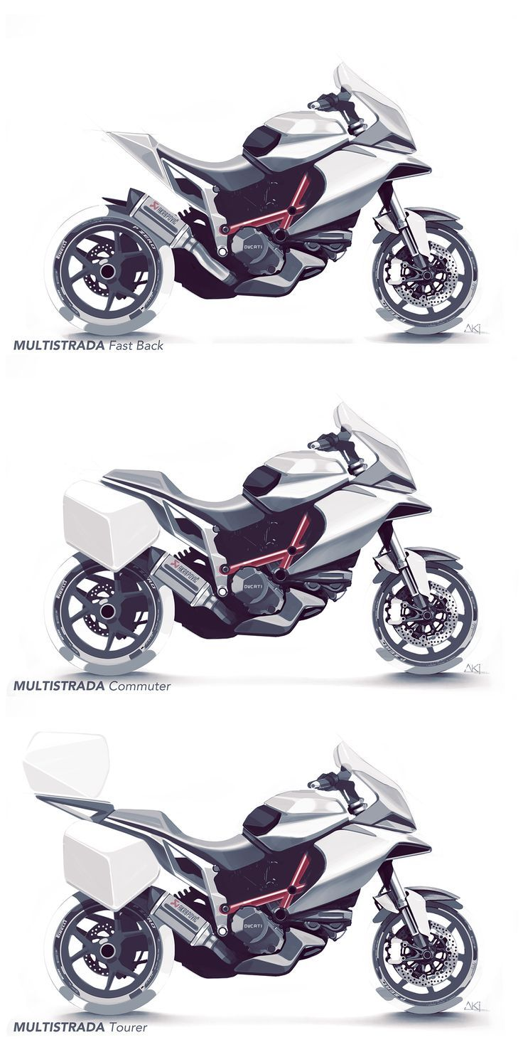 Motorcycle Sketches Vol I On Behance Life Of A Motorcyclist