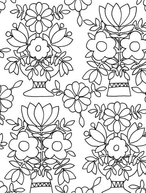 Robot Check Sun Coloring Pages Coloring Pages Mexican Folk Art