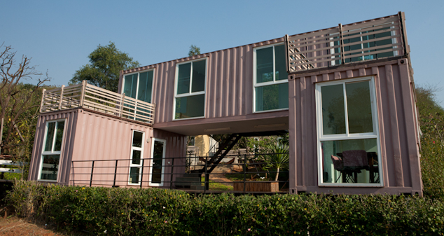 Project Container House H1 Scope Of Work Design Production Project Location Pakchong Kaoy Container House Design Container House Container Architecture