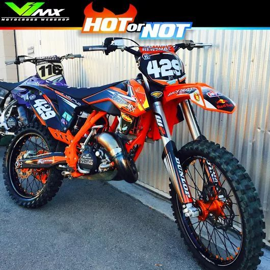 Hot Or Not Ktm 150sx Build By Ryno429 Dirtbike Motocross Ktm