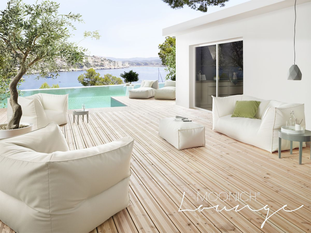 moonich lounge lounge sessel loungesofa f r die terrasse den balkon neben dem pool im. Black Bedroom Furniture Sets. Home Design Ideas