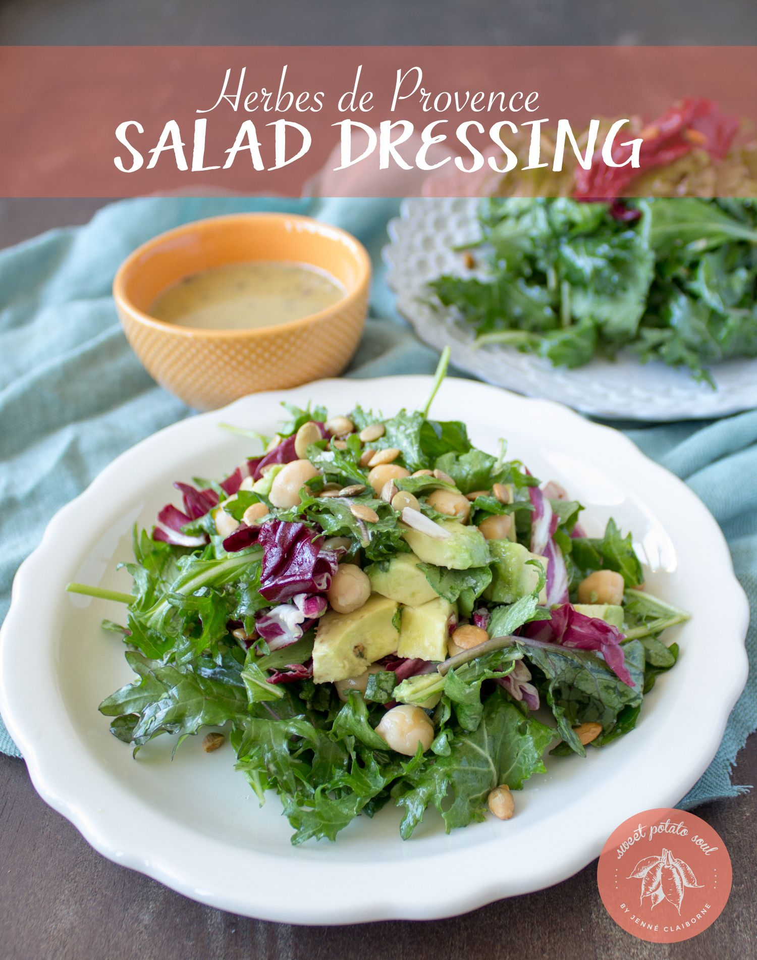 herbes de provence salad dressing recipe herbes de provence dressing and salad dressings. Black Bedroom Furniture Sets. Home Design Ideas