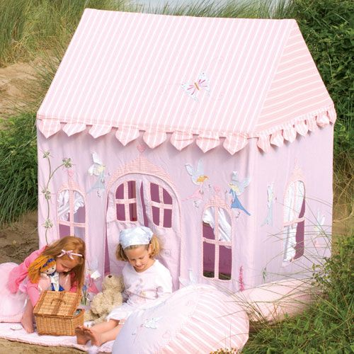 Win Green Fairy Cottage Playhouse - perfect for pretend play fun. & another amazing playhouse - Easy to make   Kid Stuff   Pinterest ...