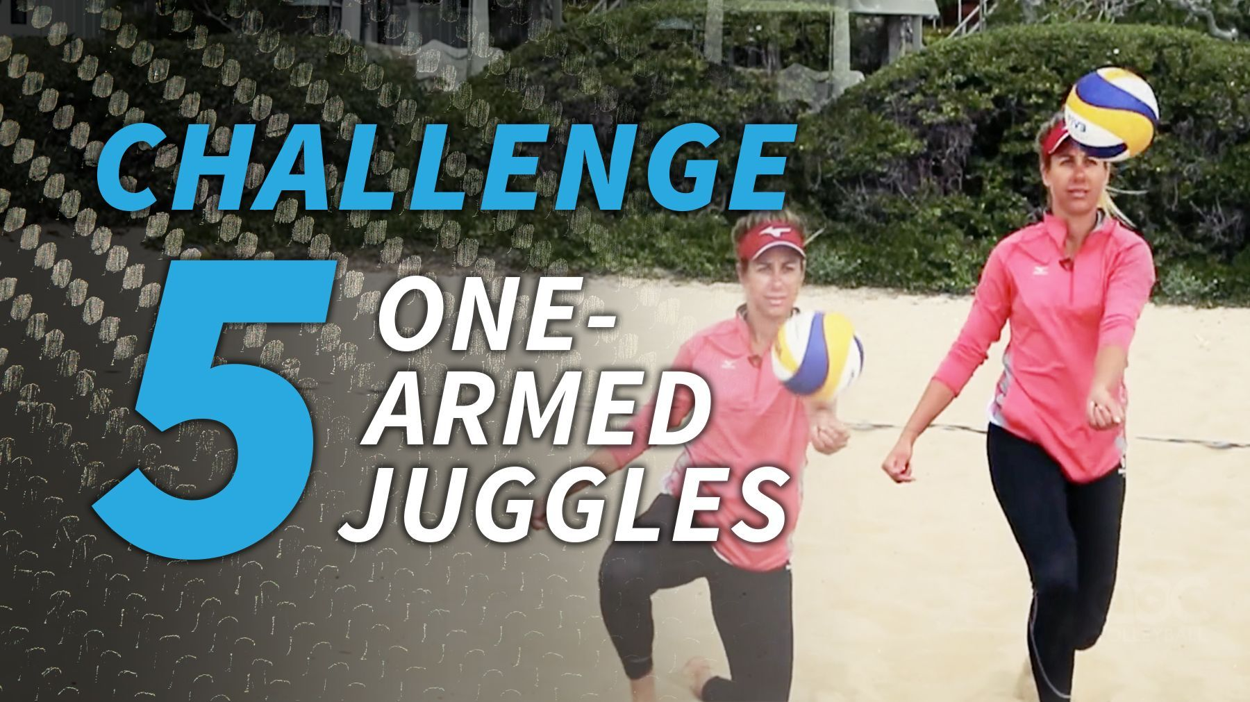 April Ross Challenge 5 One Armed Juggles The Art Of Coaching Volleyball April Ross Coaching Volleyball Challenges