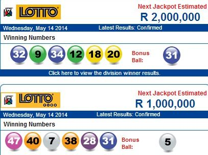 South Africa - Lotto Results - playlottoworld | A Review of