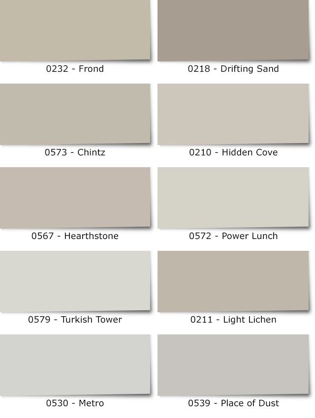 Diamond vogel paint the best warm grays for your walls for Shades of beige paint colors