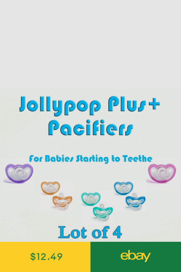 Pick Your Color 3 JollyPop Pacifier Plus mo Baby Soothie Gumdrop Silicone 4