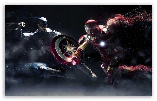 Captain America Vs Iron Man Hd Desktop Wallpaper Widescreen High Definition Fullscreen Captain America Wallpaper Iron Man Wallpaper 4k Wallpapers For Pc