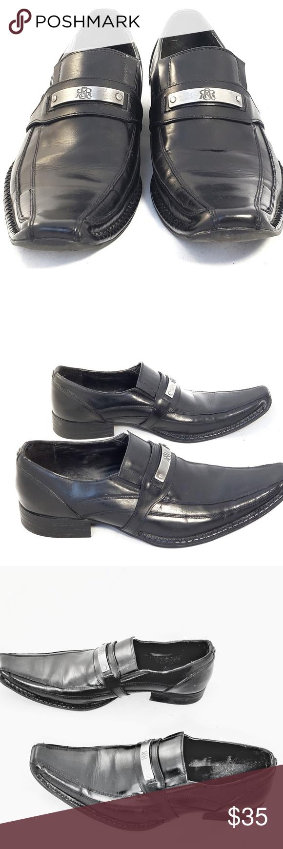 Rock Republic Men S Black Dress Shoes Mens Black Dress Shoes Black Dress Shoes Shoes [ 1740 x 580 Pixel ]