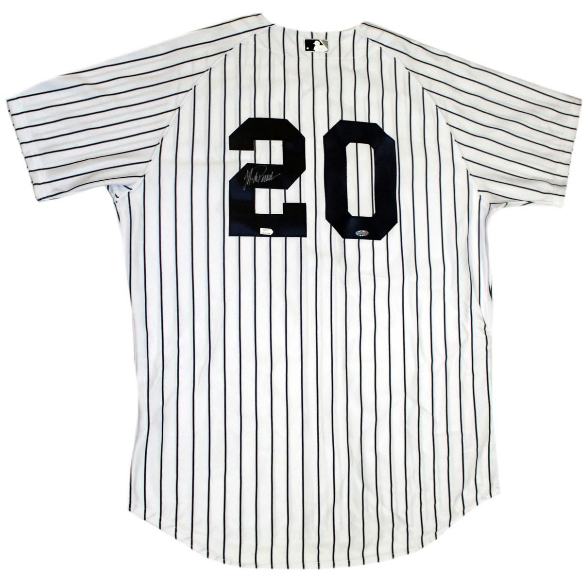 wholesale dealer da506 99e68 Jorge Posada Signed New York Yankees Authentic Home Jersey ...