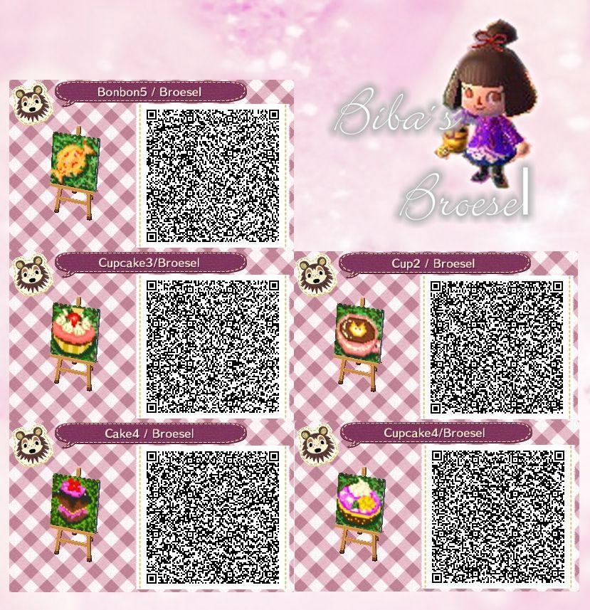 cake - sweets - Torten - Kuchen - path - Weg - - qr - ACNL - Broesel - Animal Crossing New Leaf